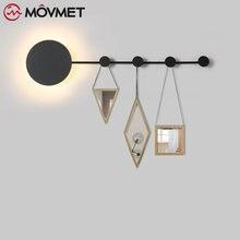 Новый простой креативный настенный светильник в стиле постмодерн