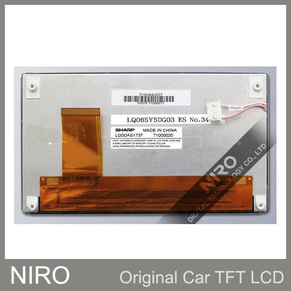 Niro DHL/EMS Новые оригинальные A+ Автомобильные TFT ЖК-мониторы от LQ065Y5DG03 w/сенсорный экран для hyundai серии