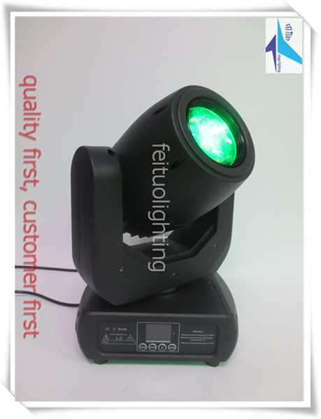 T-6+Case DJ sound system stage lighting moving head led spot light 150W stage lighting moving head