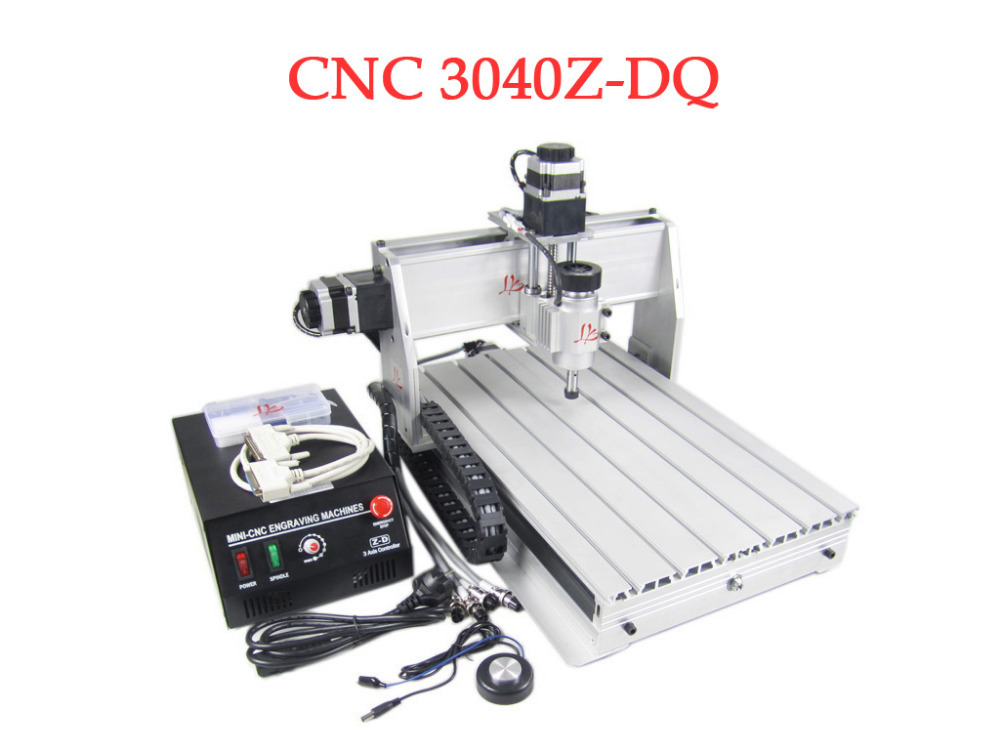 LY 3040Z-DQ 3 Aixs with 230W DC Spindle CNC Milling Machine cnc 3040z dq 3 aixs with ball screw engraving machine