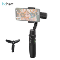 2019 Newest Hohem iSteady Mobile+ 3 Axis Handhele Gimbal Auto tracking Timelapse Panoramic for iPhone Samsung Huawei Smartphone