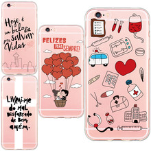 New arrival Medico Comics Medical Phone Case Design for iphone 5 5s SE 6 6s/plus Soft TPU Silicon Cover Capa