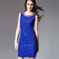 Women Dress Luxury Party Club Wear Womens Dresses Sundress Casual Sexy Short bottoming Dresses Noble High Quality Dress XL