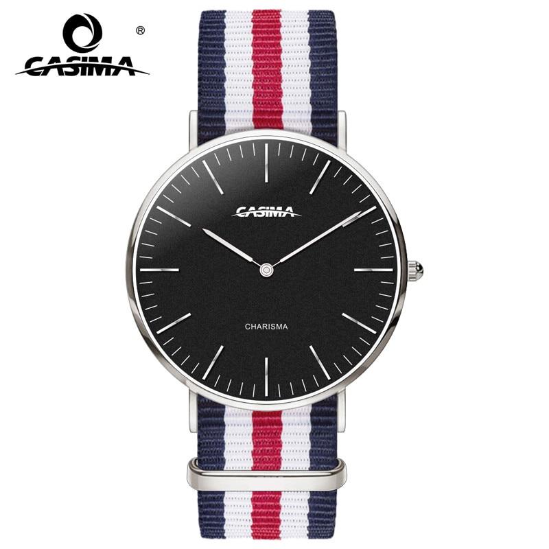 Quartz Wristwatch Brand New Watch Waterproof Watches for Men and Women Watchband relogio Elegant Watches CASIMA 5134 автомат 2p 16а тип с 6 ka abb s202