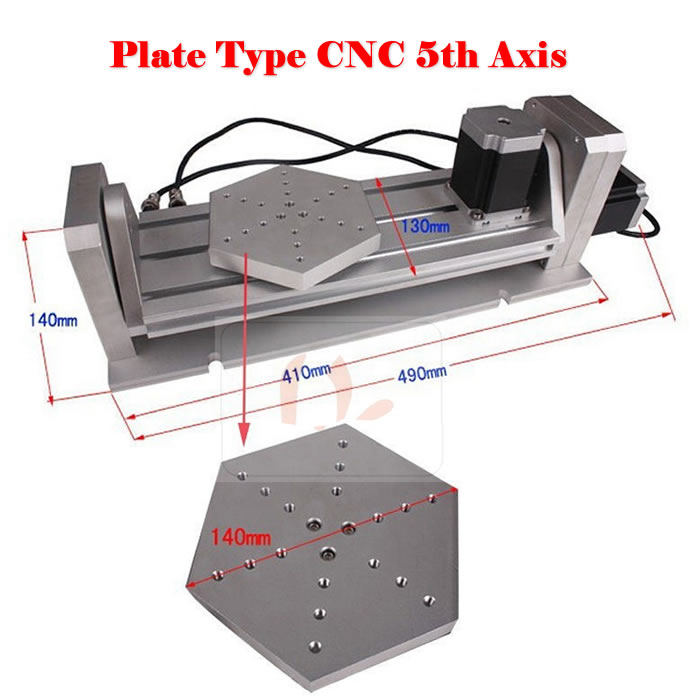 CNC 5 axis ( A aixs, Rotary axis ) plate type disc type for cnc milling machine cnc 5 axis a aixs rotary axis three jaw chuck type for cnc router