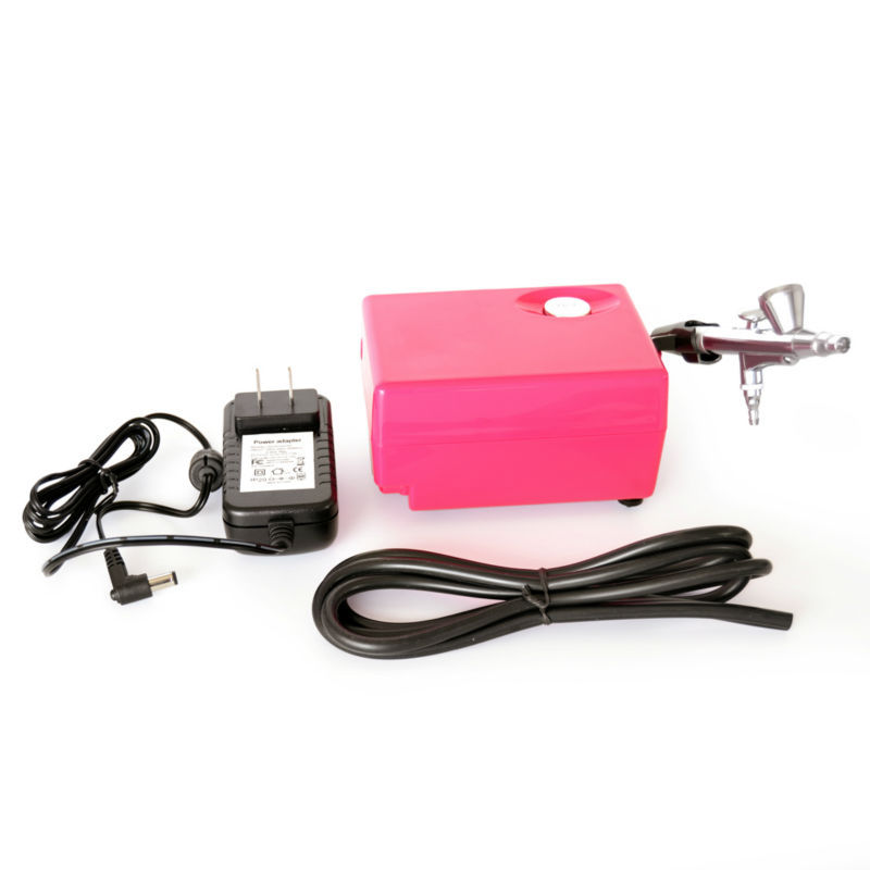 ARSTY Airbrush Compressor  for nail Airbrush Tattoo Make Up 3 Speeds Adjustable  Airbrush For Nail And Cake Painting