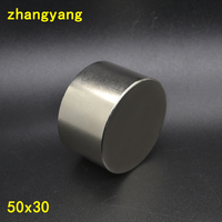 Newest Magnets 1pcs Dia 50x30 Mm Hot Round Magnet 50 30mm Strong Magnets Rare Earth Neodymium