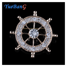 YueBanG jewelry,Free shipping,brooch for women,Anchor brooch,small pin.Clothing and bag accessories.