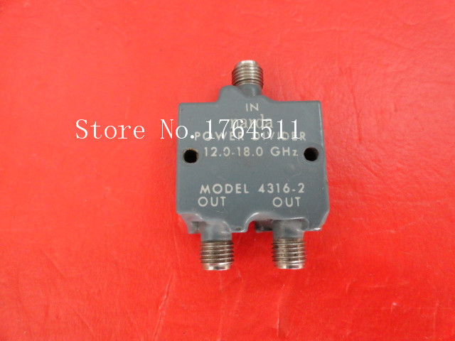 [BELLA] Narda 4316-2 12-18GHz A Two Supply Power Divider SMA