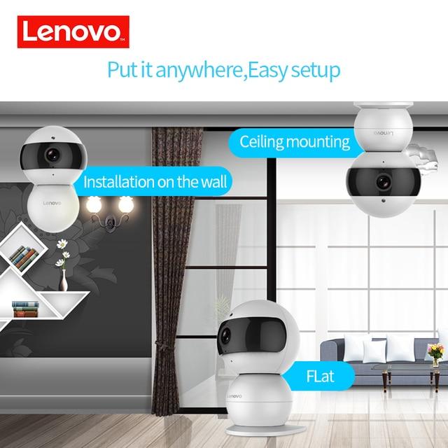 LENOVO Snowman IP Camera WiFi HD 720P