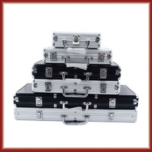 Quality aluminum chip cases chip case box  chips poker  500 code free shipping