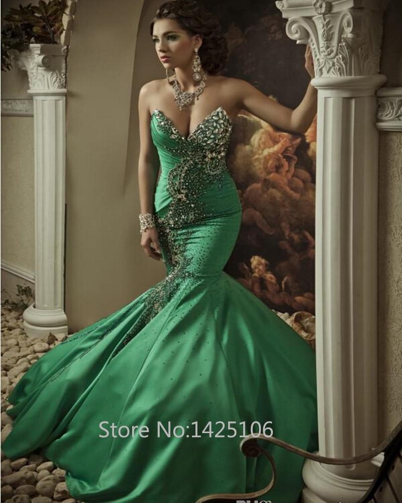 Dark turquoise lace dress