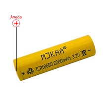 1pcs 2200mAh 18650 Rechargeable Battery High Power 18650 Li-ion Lithium Rechargeable Battery for 3.7V ICR18650 стоимость