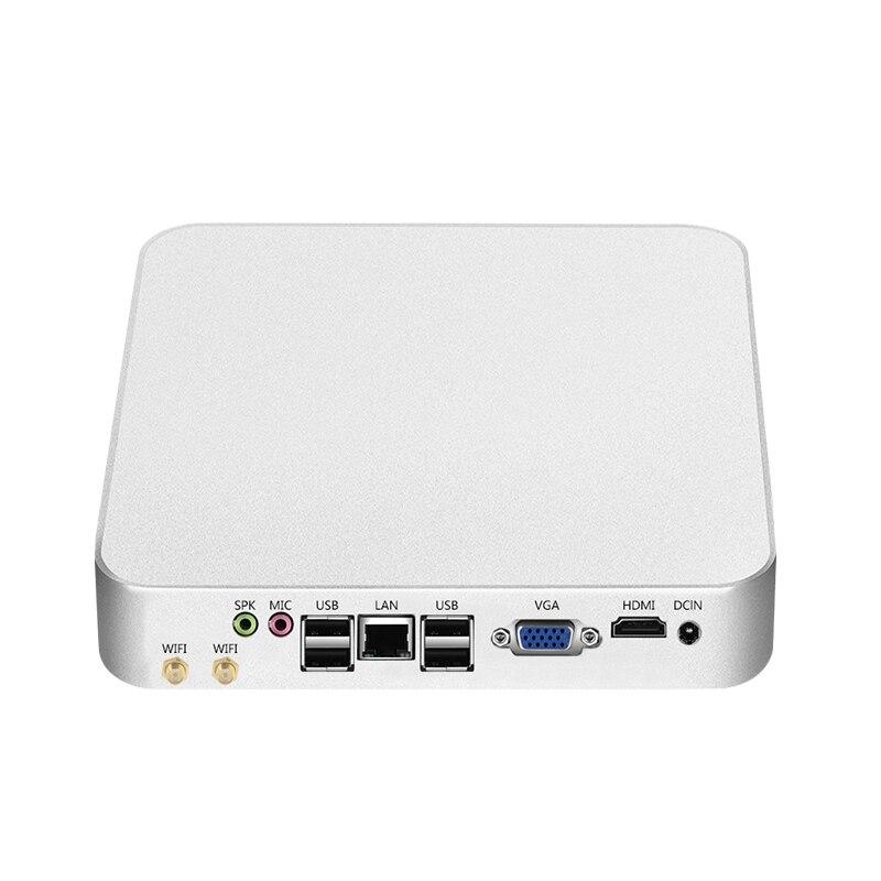 Mini PC Windows 10 Intel Celeron 1037U Micro Desktop PC HTPC Nettop HDMI VGA 6xUSB Dual Display WiFi TV BOX