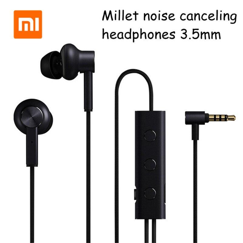 Original Xiaomi 3 5 ANC Active Noise Cancelling Earphones Hybrid 3 Unit 6 Serie AI Alloy