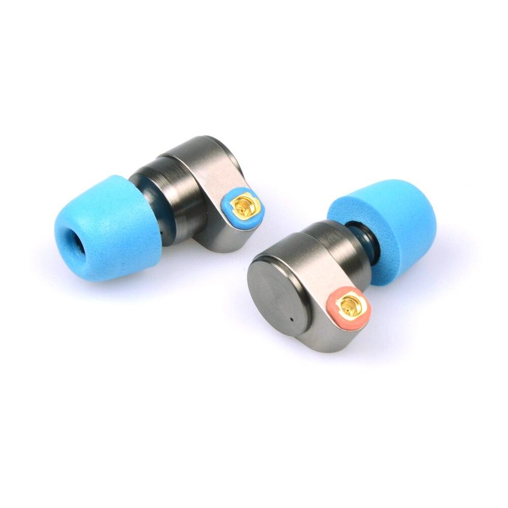 ÉTAIN Audio T2 3.5mm Dans L'oreille Écouteurs Double Dynamique Lecteur HIFI Écouteur Basse DJ Écouteurs En Métal MMCX Casque Amovible t515/T1