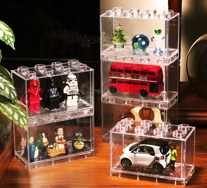1:64 Car Model Dustproof Display Box Acrylic Show Box Toy Fiures Display Shelf  NOT INCLUDING CAR