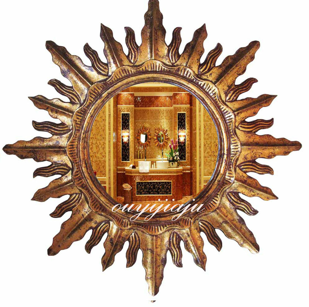 large big decorative cosmetic vintage wall sun mirror with wedding gift homedecorin decorative mirrors from home