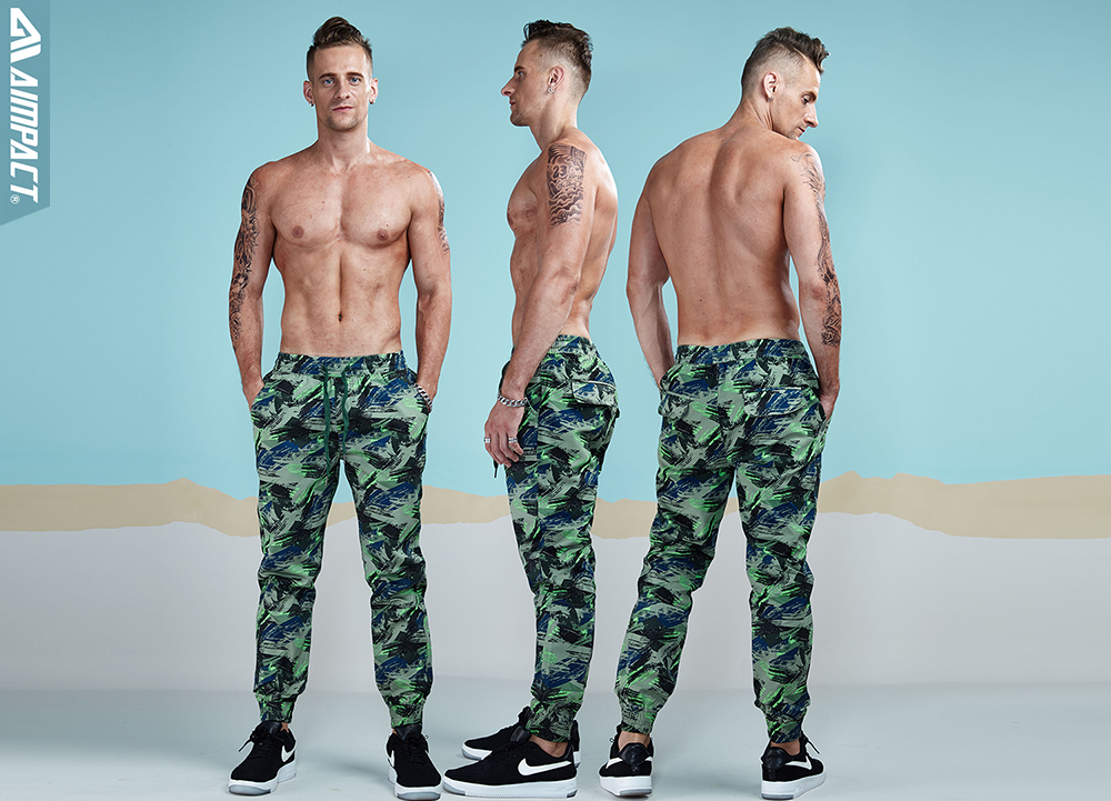 Aimpact 2018 Spring Men Casual Fashion Camo Jogger Pant Man Cotton Fitted Trace Twill Pant Male Straight Tapered Trousers AM5011 (13)