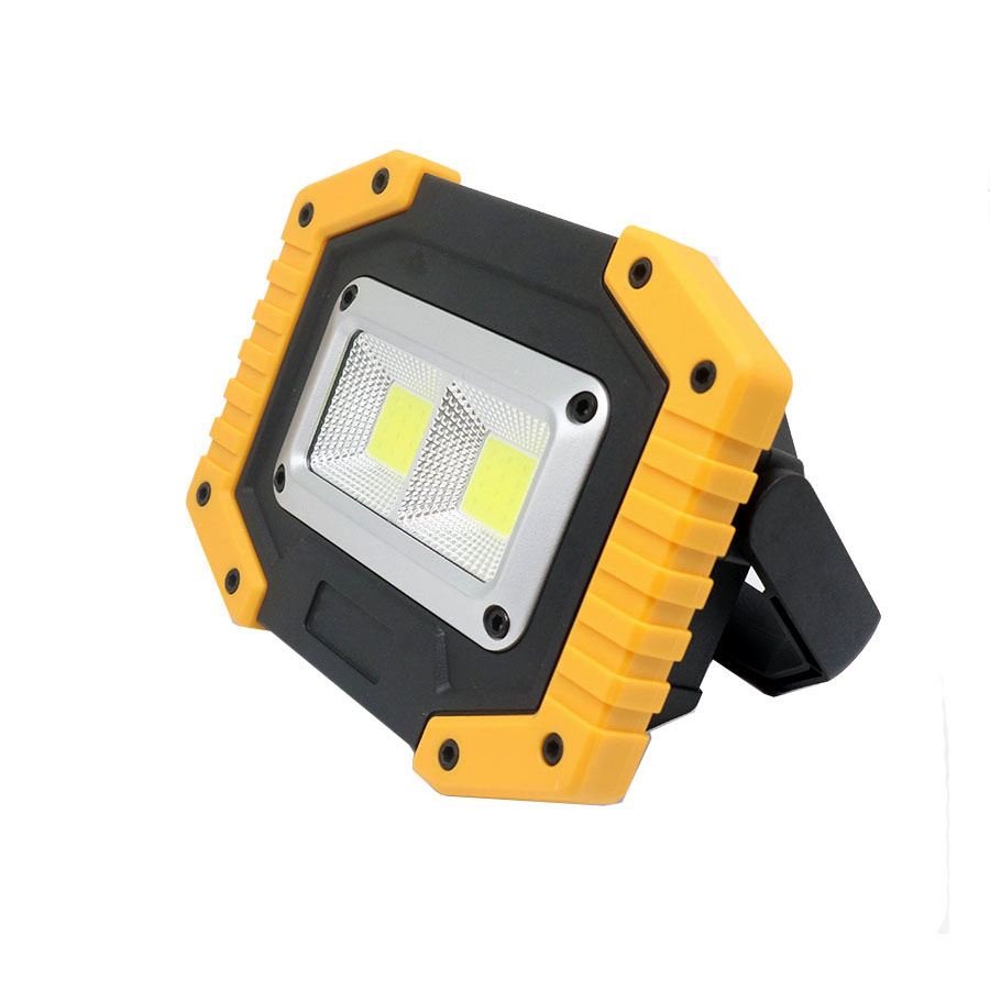 Tragbare Laternen 15 watt Wiederaufladbare COB LED 1500LM Tragbare Camping LED Arbeit Lampe Notfall Power Bank Camping Jagd Laterne