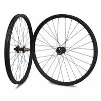29er Carbon Mountainbike Wiel Hookless/Asymmetrische Tubeless Klaar Voor DH/AM/XC/Enduro 24/27/30/35/40/50mm Breedte MTB Wielset