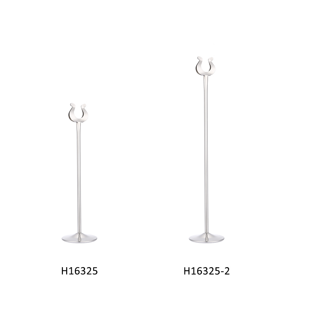 Popular stainless steel menu holder buy cheap stainless for Table number holders