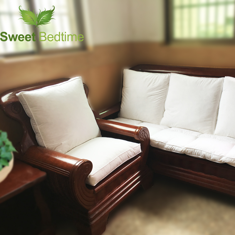 custom made duck down feather sofa cushion inserts back cushion inner seat floor mat bay window tatami mat 55 couch pillows core