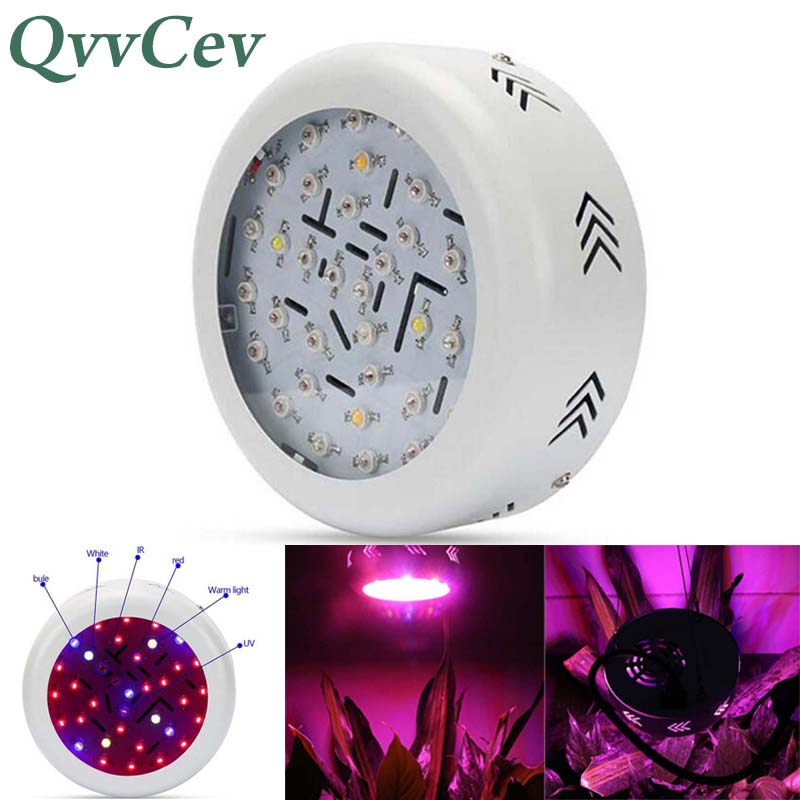 36 LED UFO Grow Light growing lamp for green house Hydro Flower Plant Full Spectrum 360w red blue light indoor hydroponics veg 90w ufo led grow light 90 pcs leds for hydroponics lighting dropshipping 90w led grow light 90w plants lamp free shipping