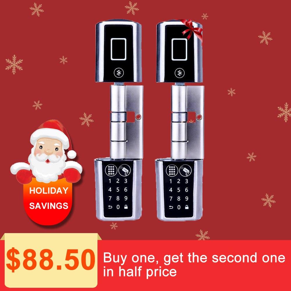 L5PC-Plus porte cylindre Maison Intelligente serrure Code Serrure De Porte Cylindre Bluetooth Électronique Porte Cylindre De Serrure Déverrouiller par Code Carte, app