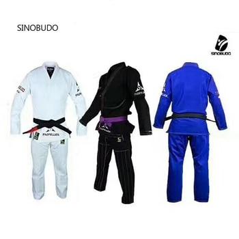 Jujitsu-taladro de tierra y competición para niños y adultos, uniforme profesional Judogi Dobok, jujitsu