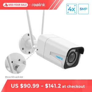 Reolink Security Camera 5MP Bullet WiFi IP Camera HD