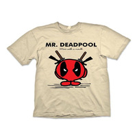 Mr Deadpool T Shirt Mr Men Funny T Shirts Short Sleeve Anime Tops Cartoon Characters Casuals