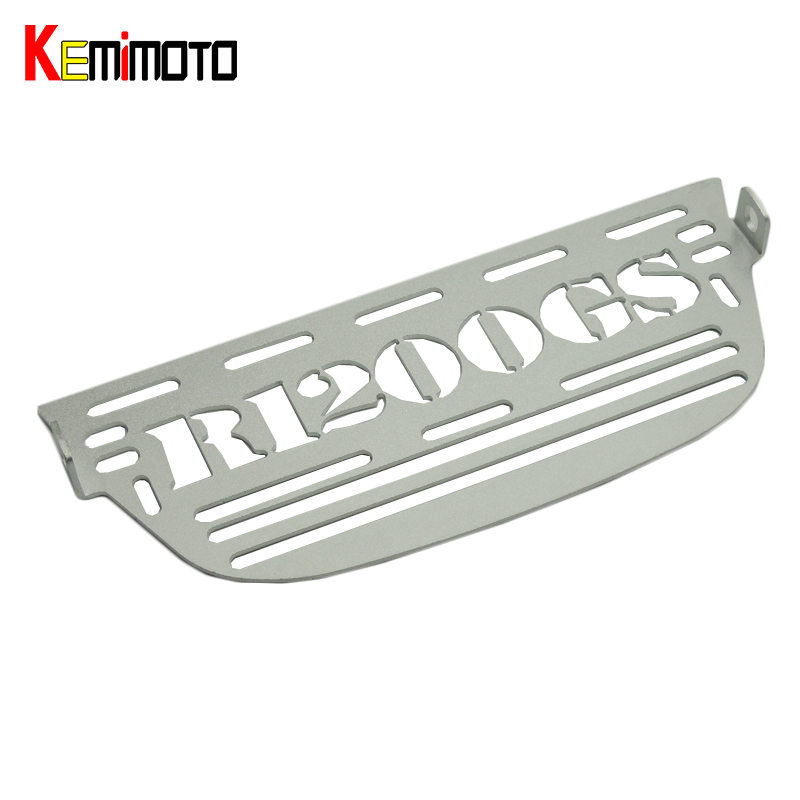 KEMiMOTO for BMW R1200GS Radiator Grille Guard Cover 2006 2007 2008 2009 2010 2011 2012 Radiator Cooler Grill Motorcycle parts abs chrome front grille around trim for ford s max smax 2007 2010 2011 2012