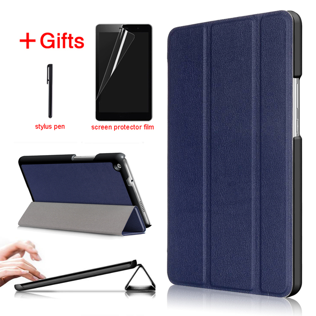 brand new 98d5f b5361 US $8.0 20% OFF|Stand PU Leather case For Huawei Mediapad M3 lite 8 CPN L09  CPN W09 CPN AL00 Tablet cover for Huawei Mediapad m3 lite 8.0 case-in ...