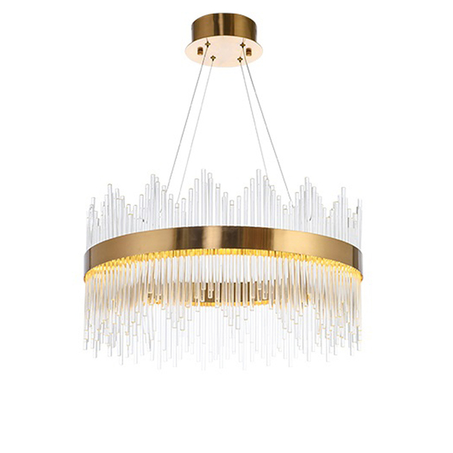 Hervorragend Glas Kronleuchter Kristall Runde Industrie Beleuchtung Hängende Lampen  Lampe Anhänger Licht Moderne Metall Bar Esszimmer Leuchten