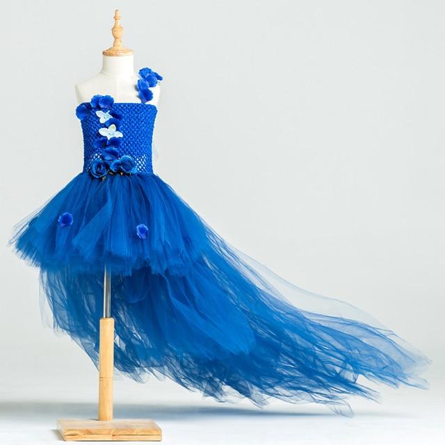 Us 31 36 44 Off Bayi Perempuan Tutu Gaun Pesta Foto Alat Peraga Desain Gaun Bola Handwork 3 Warna Modis Gadis Tulle Gaun Trailing Untuk Ulang Tahun