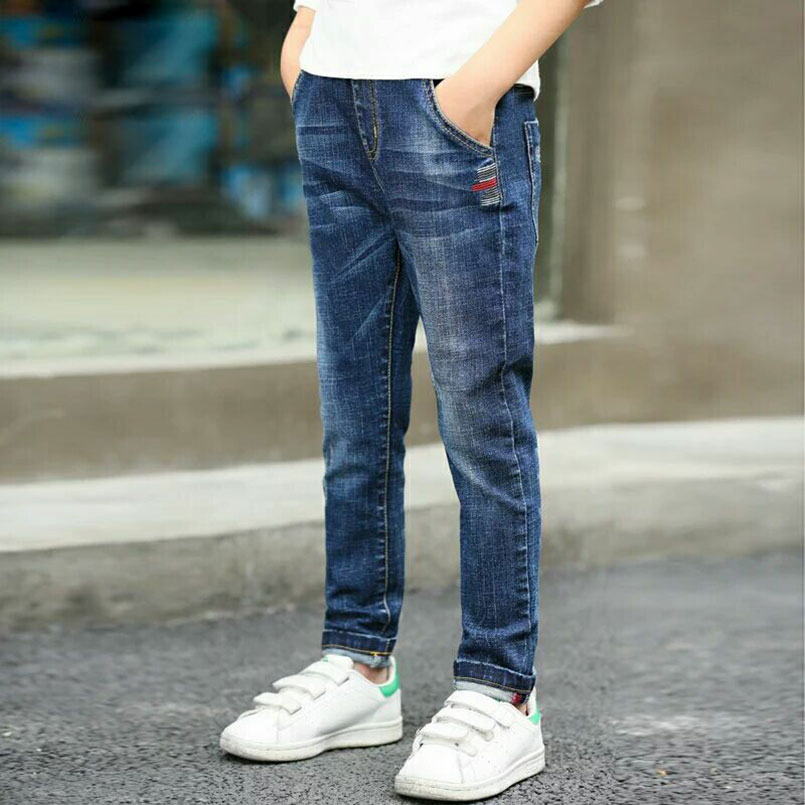 HTB1puFNXvfsK1RjSszgq6yXzpXa7 - Autumn Spring Baby Boys Jeans Pants Kids Clothes Cotton Casual Children Trousers Teenager Denim Boys Clothes 4-14Year