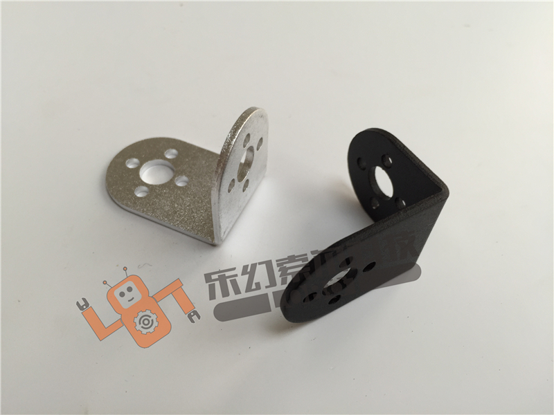 2Pcs/Lot L Style Servo Bracket Mount for Robot /Gimbal / Merchnial Arm Servo Steering Gear Accessories