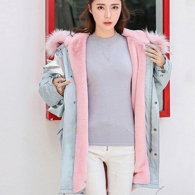acheter 2017 automne hiver veste femmes parkas pour manteau mode femme veste. Black Bedroom Furniture Sets. Home Design Ideas