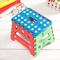 More creative plastic portable folding stool adult children small fishing stool bench low stool train camp stool Tourism camping