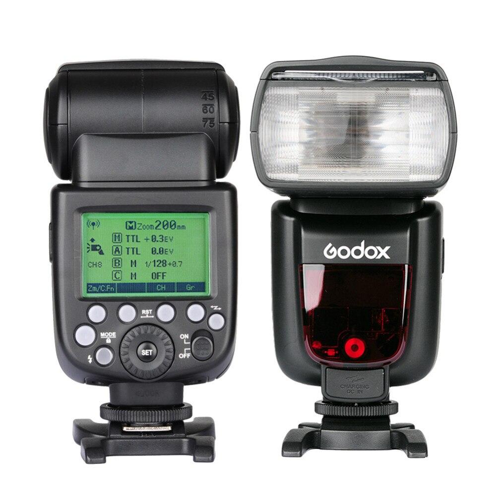 Top Quality Godox TT685C GN60 2.4G Flash Speedlite High-Speed Sync External TTL For Can'on 1100D 1000D 7D 6D 60D 50D 600D 500D top high speed full teeth piston