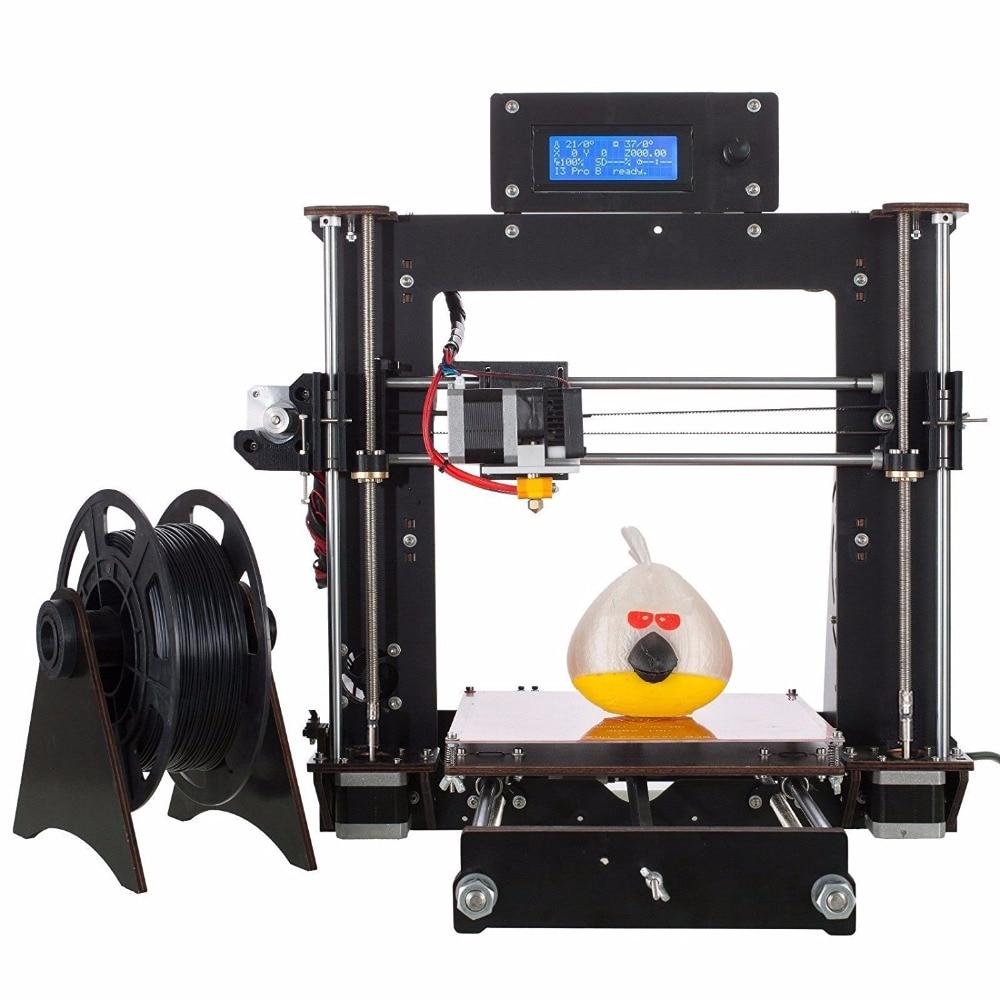 Mini 3D Printer Lastest A8 MK8 Prusa i3 3D Printer DIY Kit Durabel motor with 30g FREE PLA Stampante 3D 2017 newest ender 2 3d printer diy kit mini printer 3d machine reprap prusa i3 tarantula 3d printer 3d with filament a6 a8