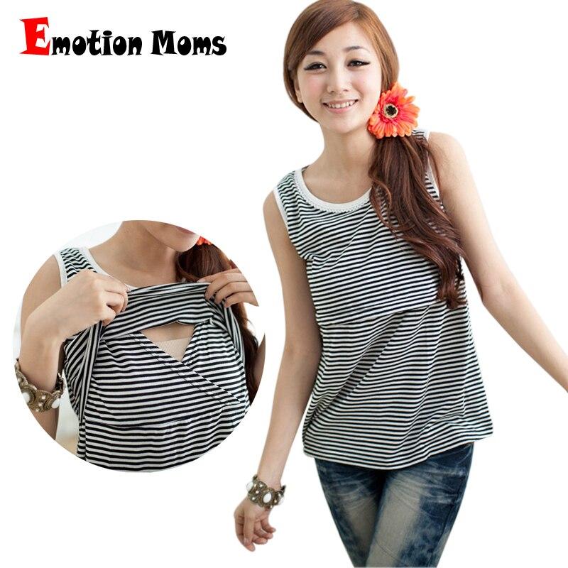 0337b1503 Emoción Moms Maternidad ropa Maternidad Camisetas de tirantes Top lactancia  enfermería camisole tanque de enfermería chaleco para las mujeres  embarazadas