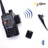 Bluetooth Wireless Headset Earpiece & PTT key for Motorola KENWOOD TYT BAOFENG ham Two Way Radio Transceiver Accessory Headset
