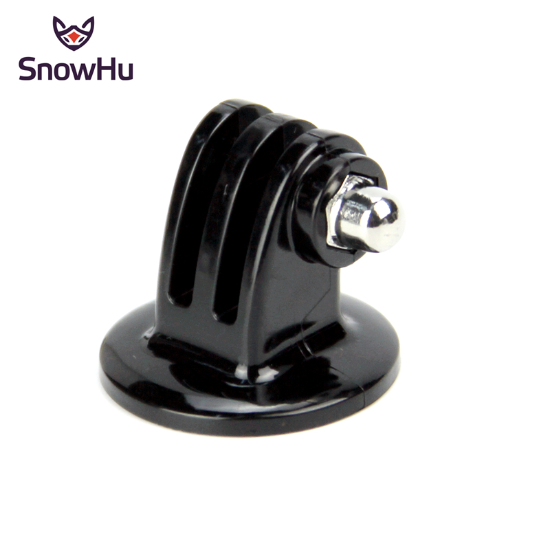 SnowHu for GoPro Accessories Mini Monopod Tripod Mount Adapter for go pro Hero 7 6 5 4 3 2 for SJCAM SJ4000 Xiaomi Yi 4K GP03 in Sports Camcorder Cases from Consumer Electronics