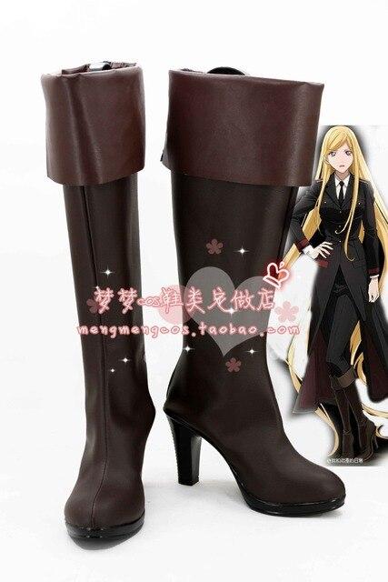 Noragami ARAGOTO Bishamon Cosplay Shoes Boots Custom Made