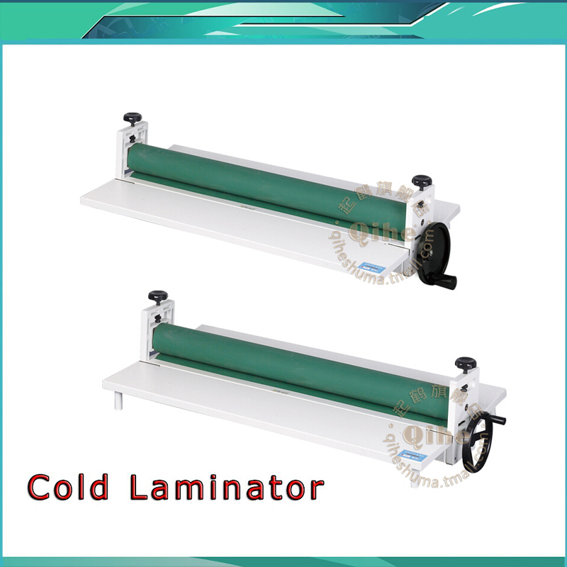 Wholesale Cold Laminator All Metal Frame 650mm Manual Laminating Machine Photo Vinyl Protect Rubber a3 a4 cold roll laminator laminating machine 4 roller system photo laminator lk4 320 220v 300w cold laminator
