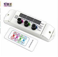 BC-350RF CV RGB Led Controller RF Wireless Remote knopf Rotary Schalter RGB Dimmer 6A/CH * 3 Ausgang für 5050 RGB FÜHRTE streifen lichter