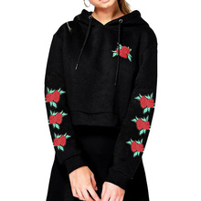Valentines Day Clothes Loose Sweatshirts Womens Short Hoodies Plus Size Clothing Tops Gothic