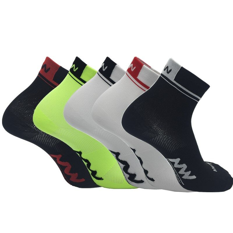 New Summer Short Sport Socks Sweat-Absorbent Breathable Men's Cycling Socks Women's Bicycle Socks Outdoor Running Socks